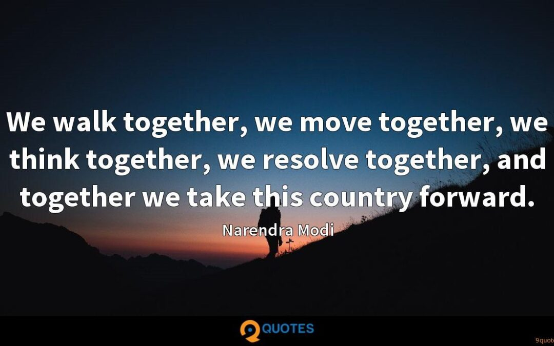 Together, We Will Endure and Move Forward
